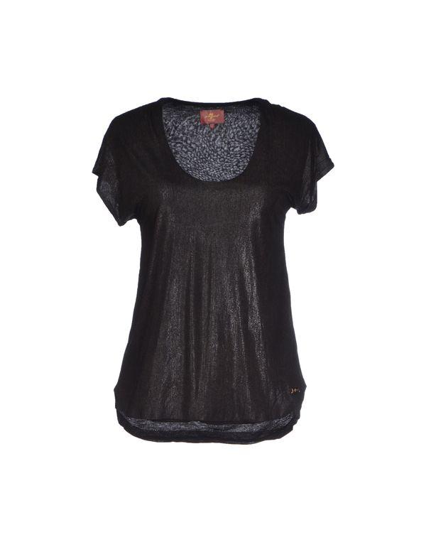 黑色 7 FOR ALL MANKIND T-shirt