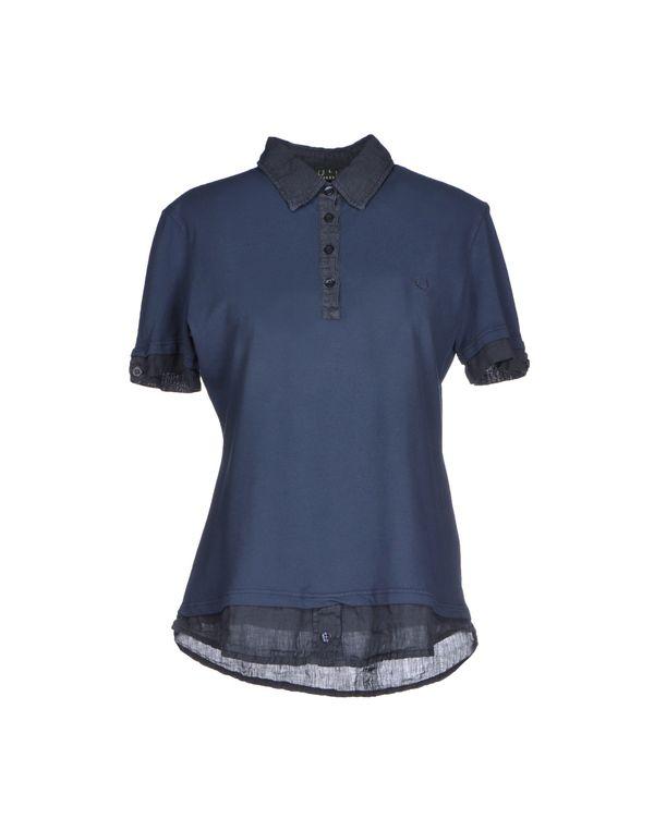 石青色 FRED PERRY Polo衫