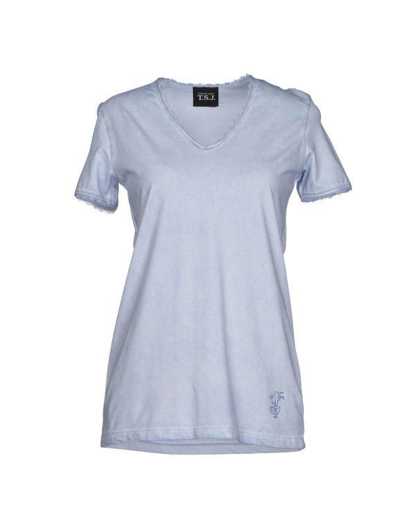 天蓝 TWIN-SET JEANS T-shirt