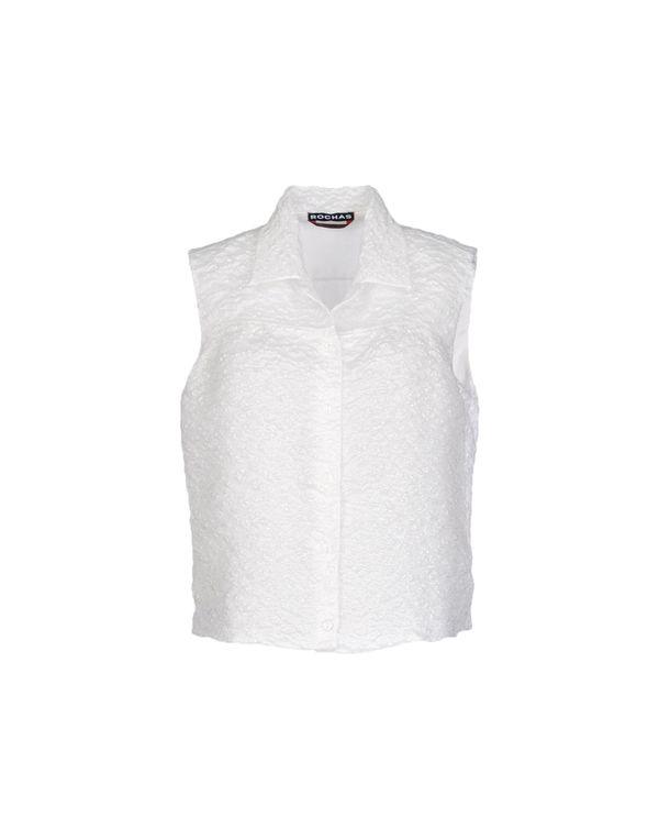 白色 ROCHAS Shirt
