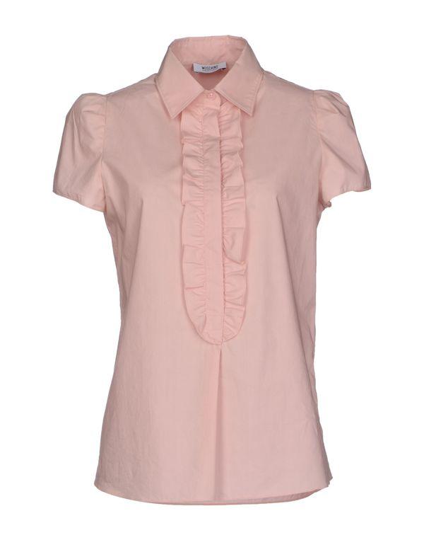 浅粉色 MOSCHINO CHEAPANDCHIC Shirt