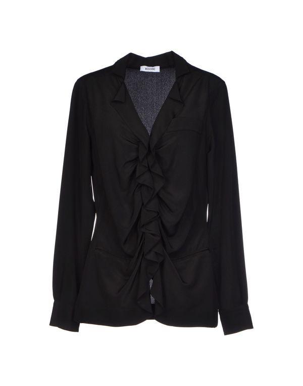 黑色 MOSCHINO Shirt