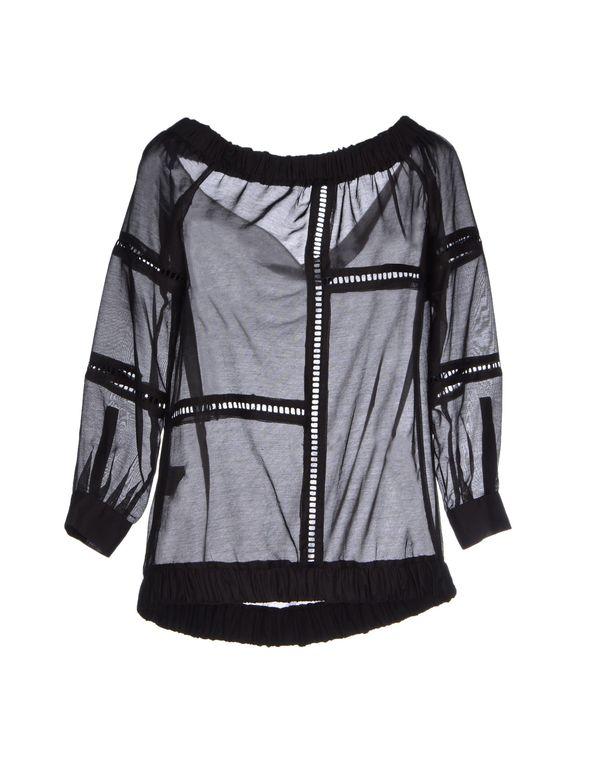 黑色 PINKO 女士衬衫