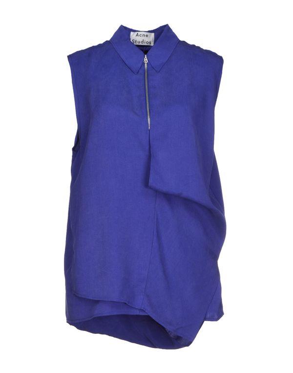 深紫色 ACNE STUDIOS 上衣