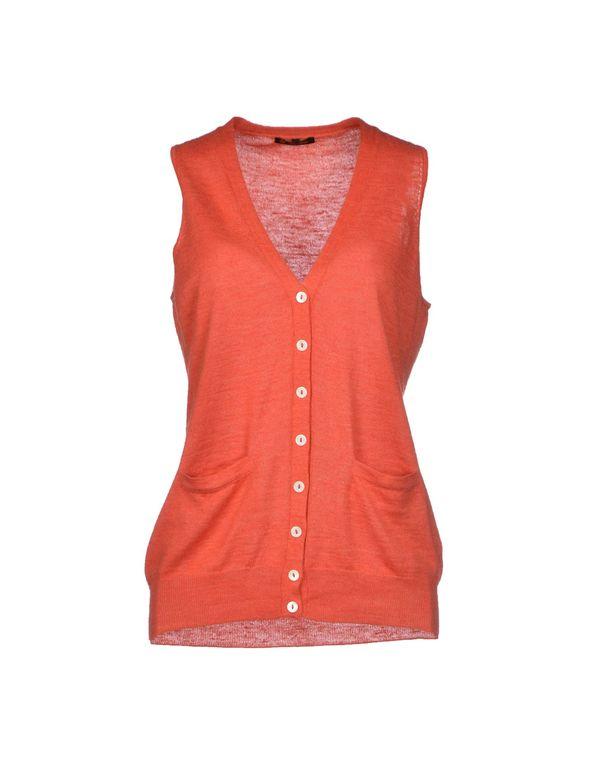 珊瑚红 LORO PIANA 针织开衫