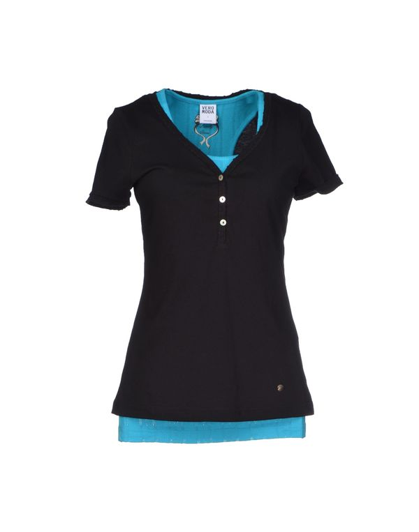 黑色 VERO MODA T-shirt