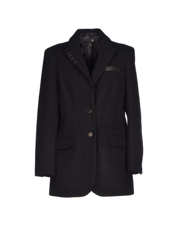 黑色 EDUN 大衣