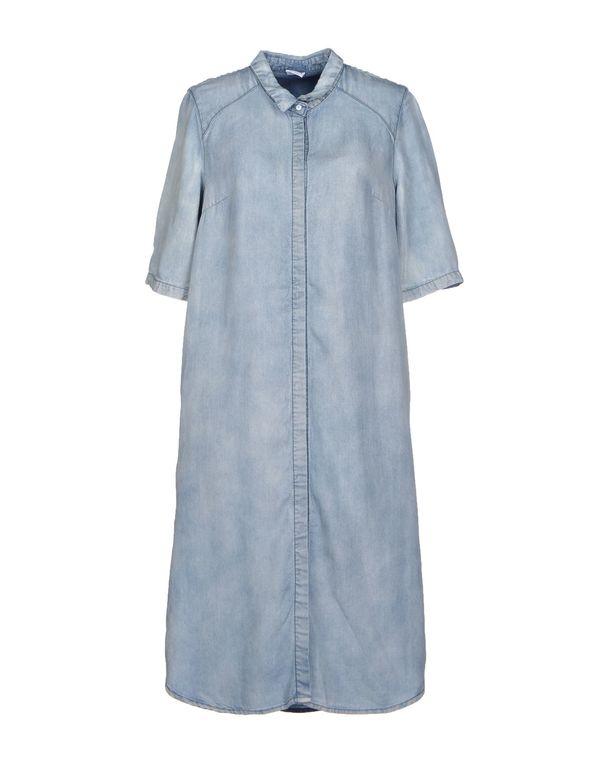 蓝色 VERO MODA 牛仔衬衫