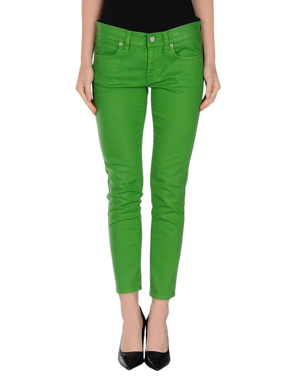 绿色 RALPH LAUREN 牛仔裤