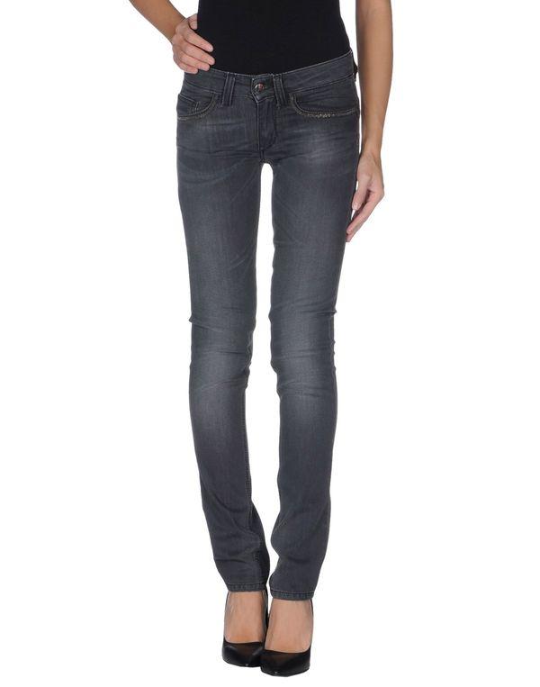 灰色 LIU •JO 牛仔裤