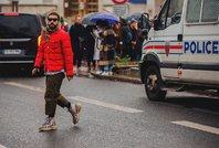 巴黎2018秋冬男装周街拍