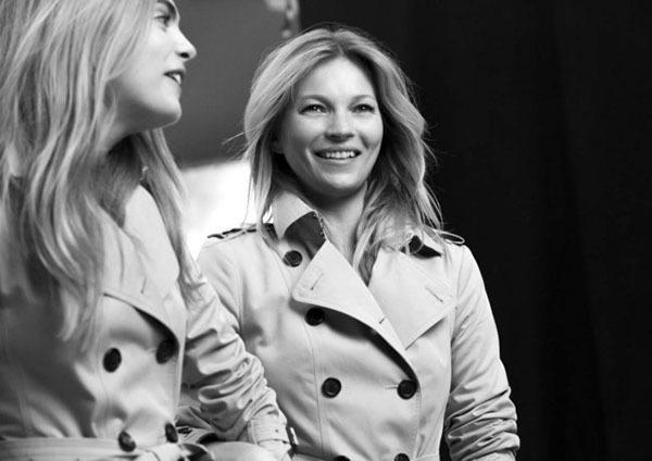 卡拉·迪瓦伊和凯特·摩丝谈合作代言Burberry新香氛