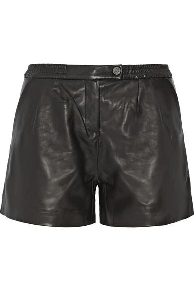 Eden 皮革短裤