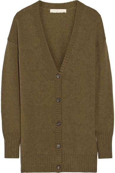 Baladin 大廓形马利诺羊毛和牦牛毛混纺开襟衫