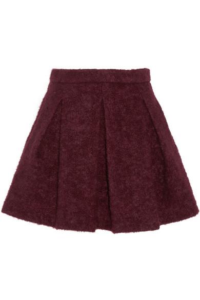 Hadly 褶裥梭织迷你半身裙