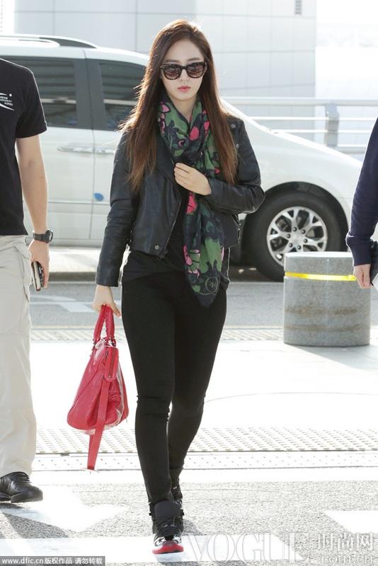 2013年度韩国女星最佳机场造型