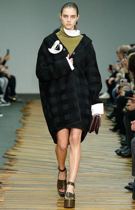 茧型大衣2014秋冬流行趋势