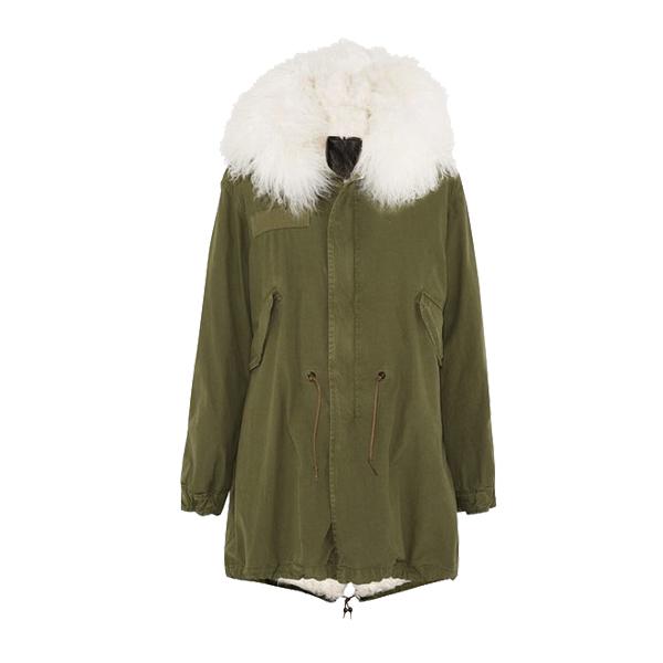 羊羔毛大衣新品推荐
