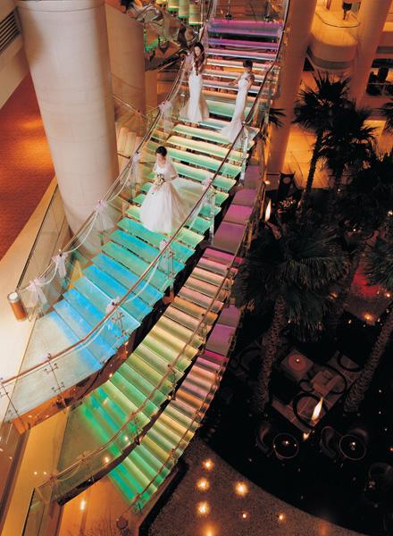 上海威斯汀大饭店 创意浪漫婚典 见证永恒爱情