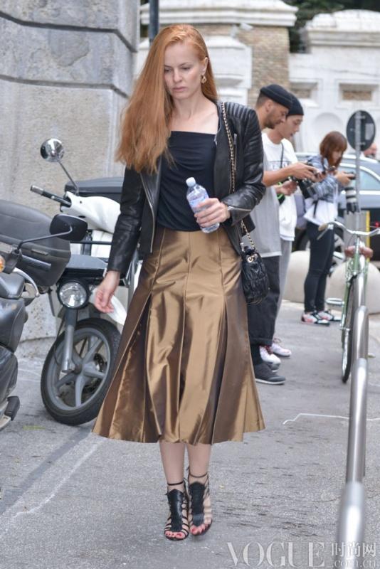 2015春夏米兰时装周街拍Day 2