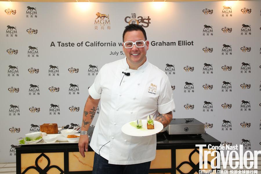 Graham Elliot:不爱听音乐的电视明星不是一位好厨师