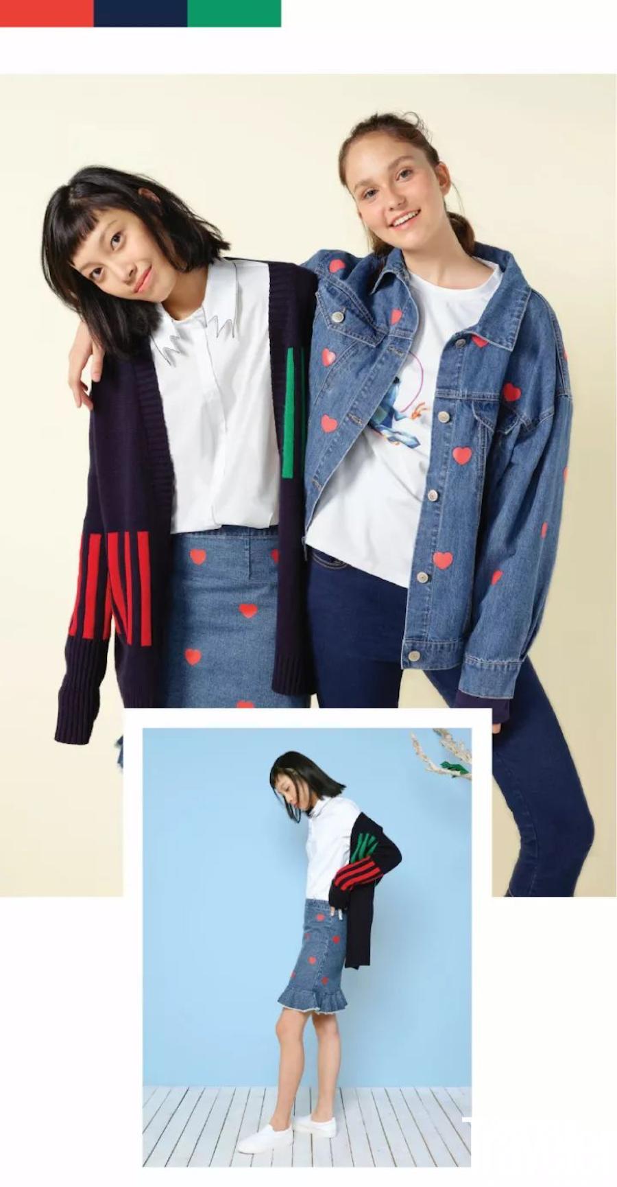 设计师联名款第二弹来袭!Gap × Condé Nast Center × W by WenJun系列要进店啦~