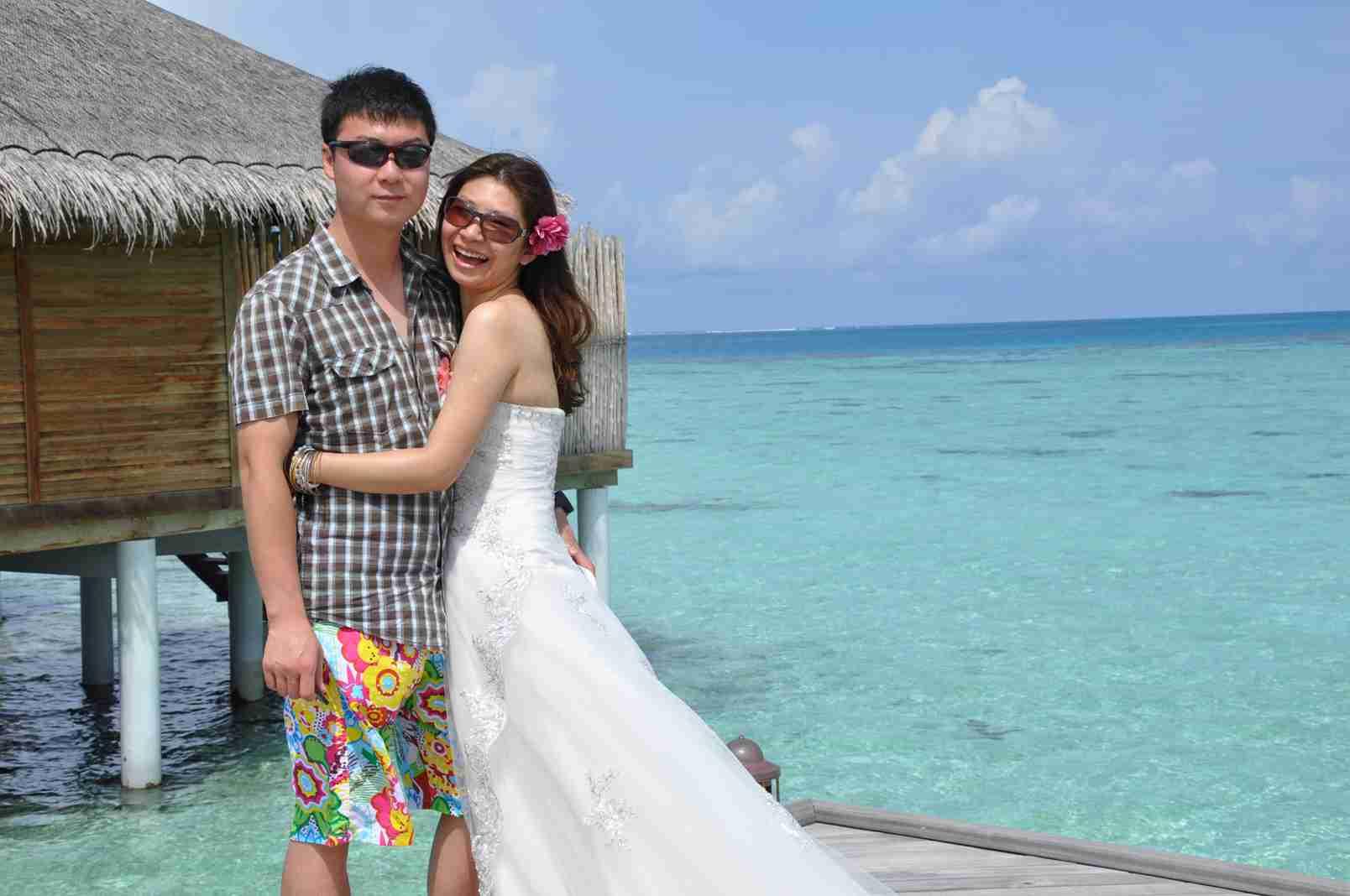 【走吧,去海岛】我的蜜月旅行---马尔代夫
