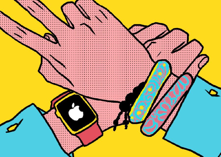 左手戴Apple Watch 右手戴什么_潮流_手机版GQ男士网