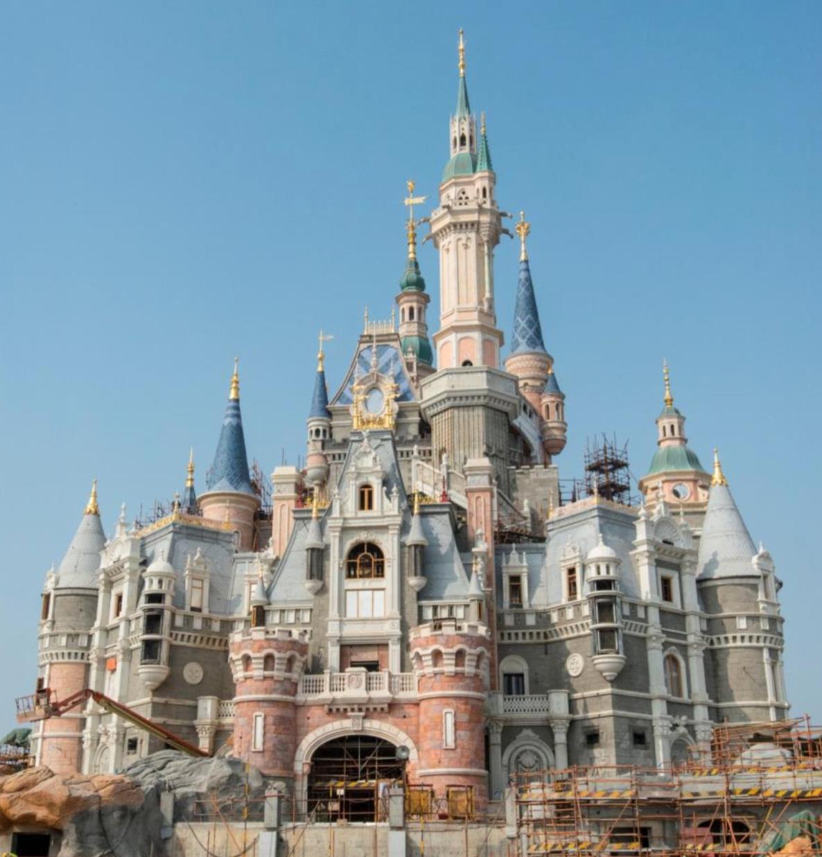 迪士尼城堡图案图片_迪士尼城堡图案图片下载