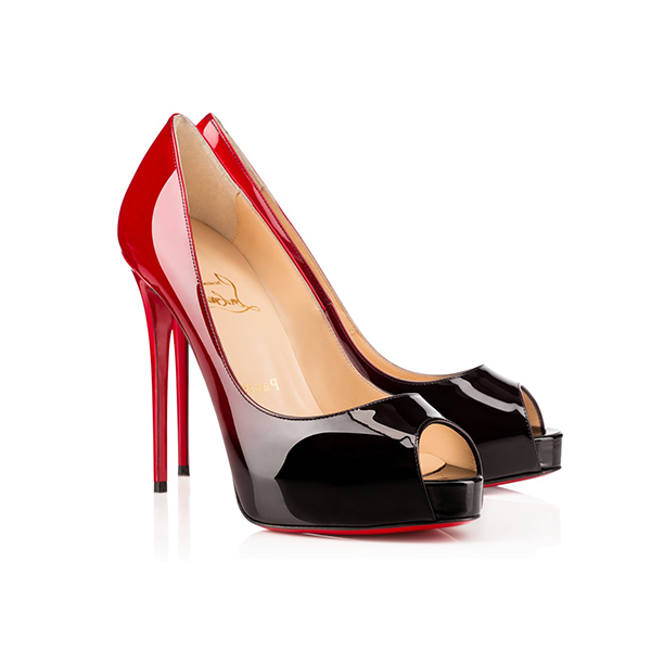 e9d387adc1a9 Christian Louboutin New Very Prive Gradient Patent High Heels