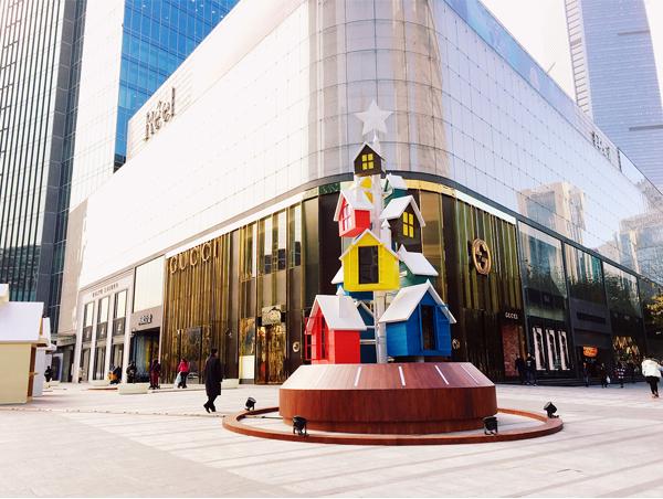 芮欧百货上海 礼赞圣诞图片
