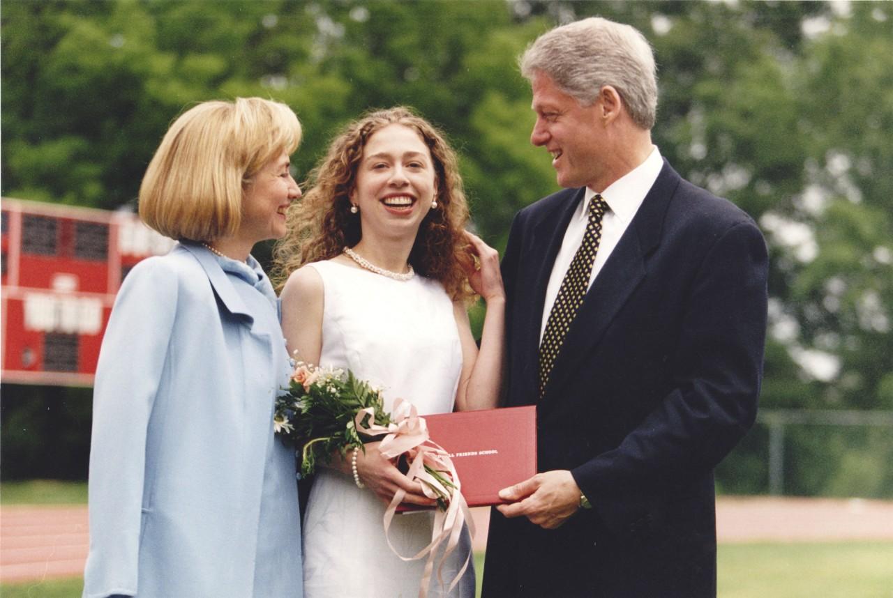 克林顿总统年轻照片