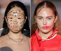 纽约时装周最异想天开的妆容 明年春夏这样妆
