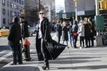 2017秋冬纽约时装周街拍 DAY8