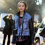 中国超模街拍 仙气十足惹人眼