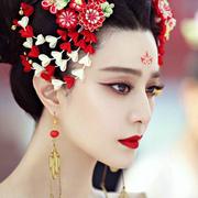 40张图全面了解《武媚娘》绝美妆容造型