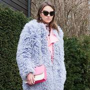 """""""羊""""羔绒弹性细腻质感暖暖过冬"""