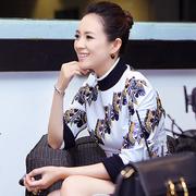 迪奥小姐艺术展 章子怡与VOGUE畅谈时装、红毯与艺术品