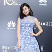 陈妍希现身VOGUE十周年盛典