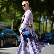 20款长袖连衣裙的早春最美穿搭法