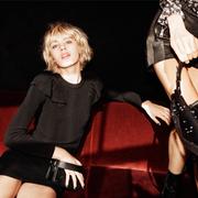 AllSaints 2016 秋冬圣诞形象大片 引用新世代超模Céline Bouly