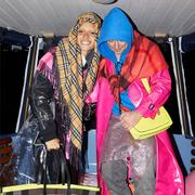 「霓彩新潮」英国模特Adwoa Aboah与摄影师Juergen Teller 联合呈献Burberry时尚摄影集锦