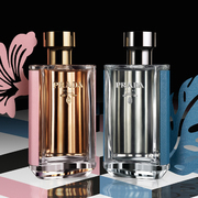 Prada普拉达全新男女淡香水 清新上市
