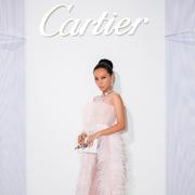 高级珠宝设计师万宝宝出席卡地亚COLORATURA高级珠宝展