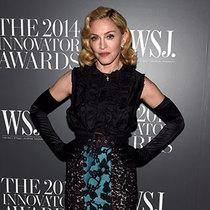 """麦当娜·西科尼 (Madonna Ciccone) 身穿Miu Miu 亮相《华尔街日报》杂志""""年度创新奖"""" 颁奖典礼"""