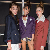 Vivienne Westwood Red Label 2015春夏后台揭秘