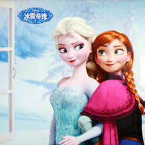 美即面膜与迪士尼《冰雪奇缘》地铁广告,合力打造冰雪概念