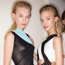Versace 2015春夏后台揭秘