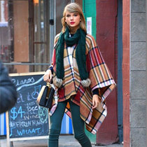 偷师Taylor Swift 变身冬日街拍女神