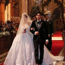 为爱加冕,昆凌小姐佩戴CHAUMET珠宝与周杰伦步入婚礼殿堂